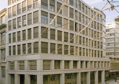 Immeuble de logements HBM et crèche à Genève