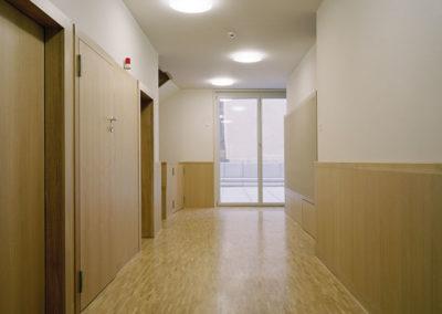 couloirs à la rue du Cendrier à Genève