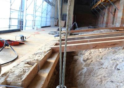 Rénovation, Abbatiale de Payerne