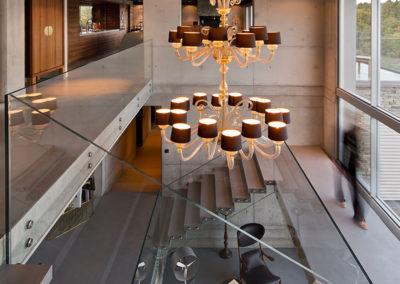 intérieur villa haut standing à Genolier