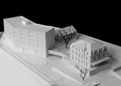 Maquette EMS Mont Riant - Yverdon