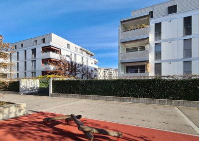 Immeubles quartier Maillefer à Lausanne