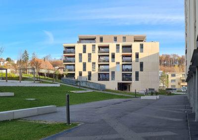 Immeuble quartier Maillefer à Lausanne