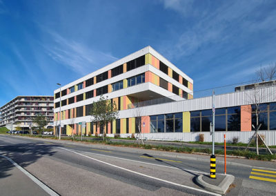 Etablissement scolaire primaire au Rionzi au Mont-sur-Lausanne