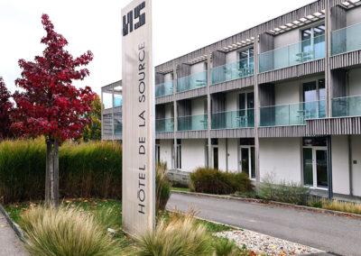 Hôtel La Source  à Yverdon-les-Bains