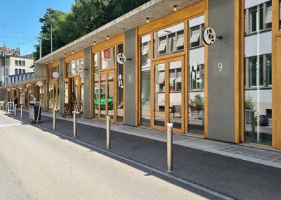 Les Garages au Flon  à Lausanne