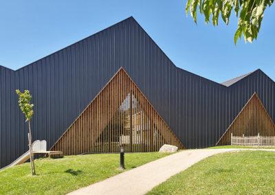 Salle polyvalente VD3 en bois  à Le Vaud